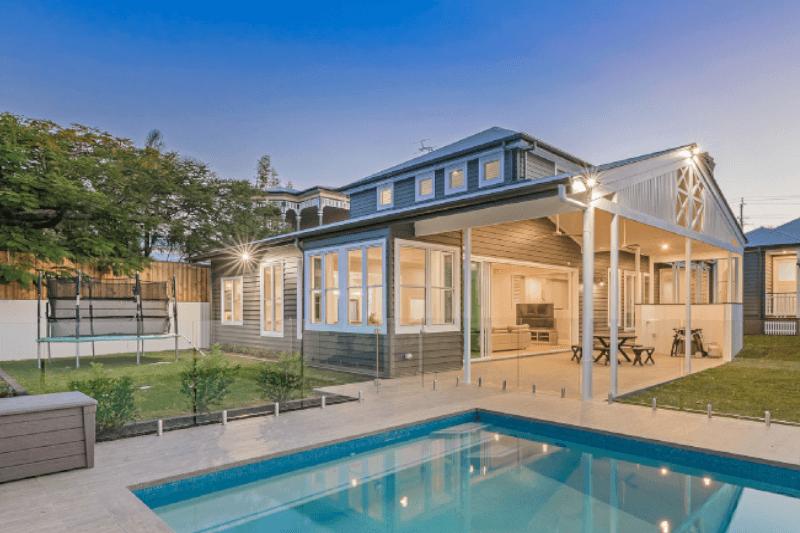 Modern Housing Backyard Pool